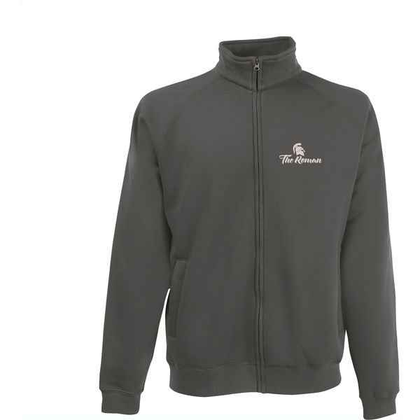 Fruit Classic Sweatjacket mens (grey)- mck promotions