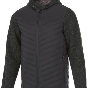 Hutch insulated hybrid jacket, heather smoke- MCK Promotions