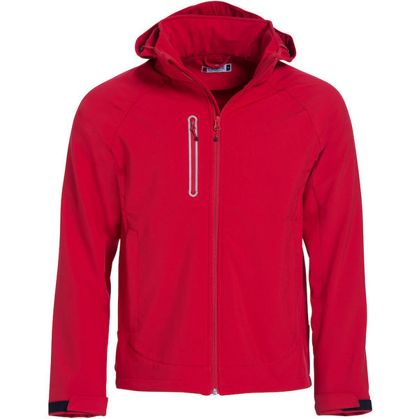 Milford Softshell Jacket Red-mck promotions