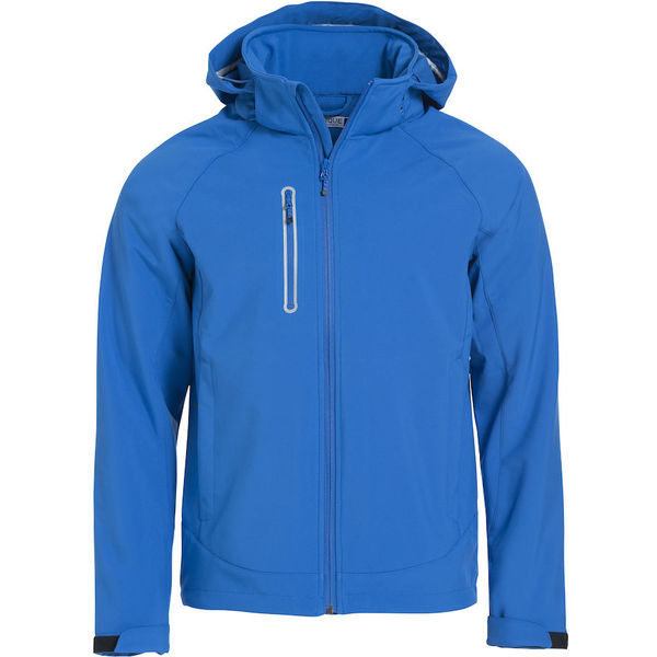 Milford Softshell Jacket Royal Blue- MCK Promotions