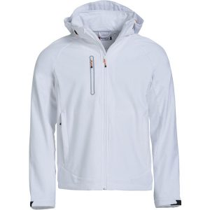 Milford Softshell Jacket White- mck promotions