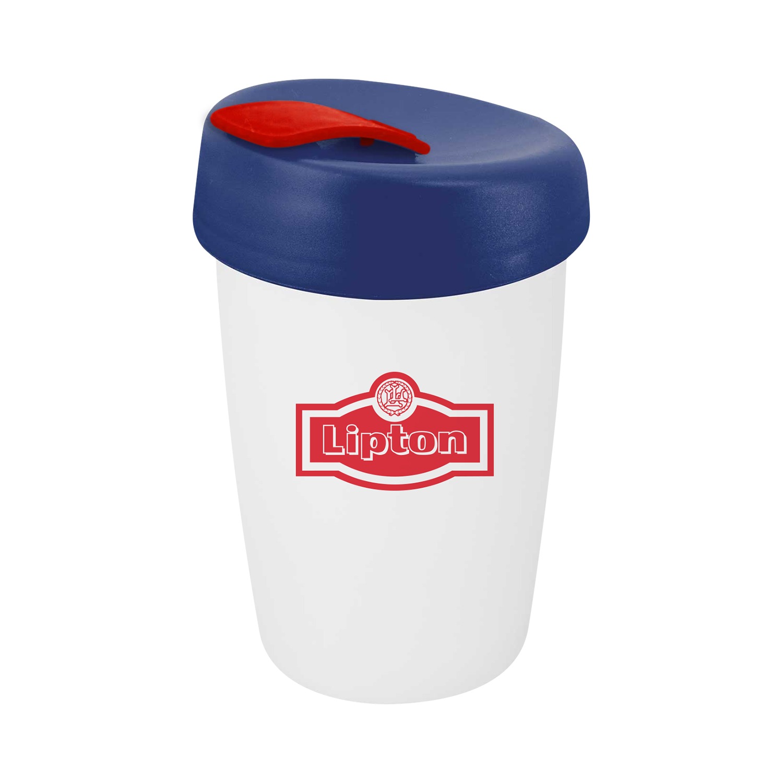 Reusable Coffee Mug Stainless Steel 350ml Capacity