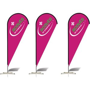 Teardrop Flags - MCK Promotions