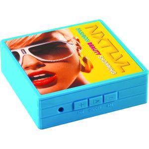 iSpeak Bluetooth Speaker (blue) - MCK Promotions