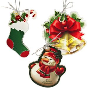 Acrylic Christmas Pendants- MCK Promotions