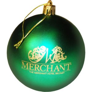 Christmas Baubles- MCK Promotions