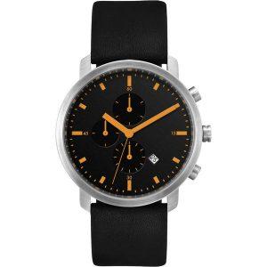 Chronograph watch(Black, orange)- MCK Promotions