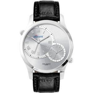 Classic chrono watch (black)- mck promotions