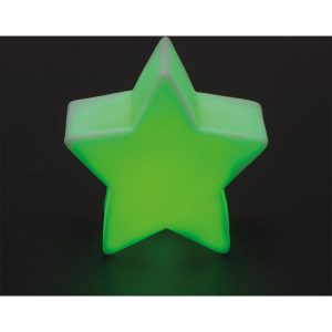Night light in the shape of a star (green)- MCK Promotions