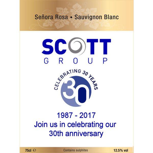 Personalised Wine - Senora Rosa Sauvignon Blanc- Mck Promotions