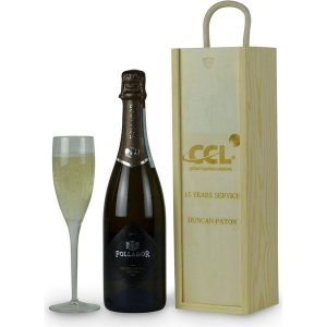 Personalised Wooden Gift Box with Prosecco- MCK Promotions