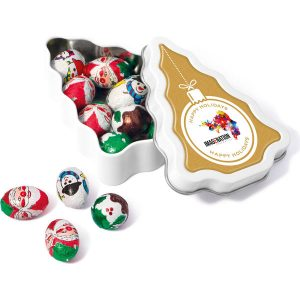 Winter Collection 17 - Mini Christmas Tree - Foil Wrapped Chocolate Balls- MCK Promotions