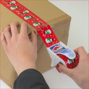 Adhesive ribbon in dispenser (sample of tape)- MCK Promotions