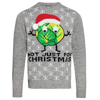 Adults Sprouts Not Just For Christmas jumper - MCK Promotions