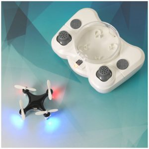 All-eyes mini drone with LED lights (black)- MCK Promotions