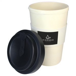 Bamboo Takeaway Cup (400ml) Sample.- MCK Promotions