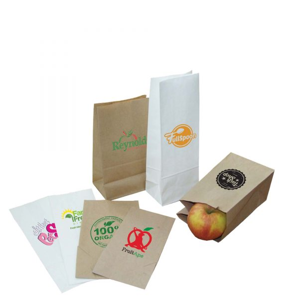 Block Bottom Paper Bags- MCK Promotions