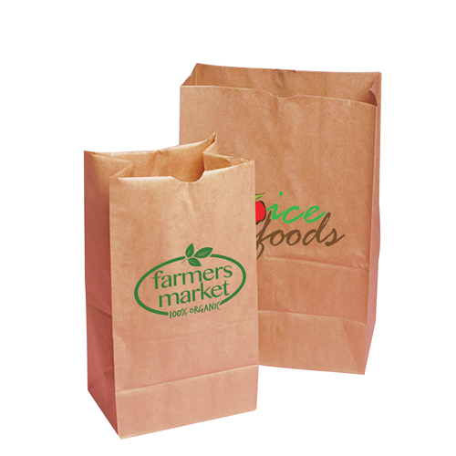 Block Bottom Paper Bags (small 18 x 34 x 10cm)- MCK Promotions