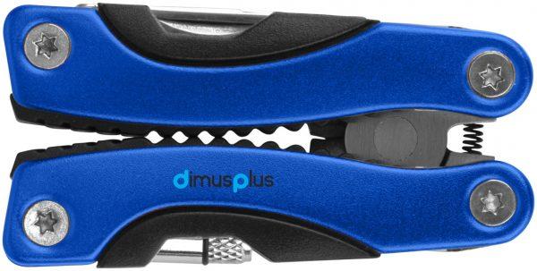 Casper 8-function multi-tool with LED flashlight, blue- MCK Promotions