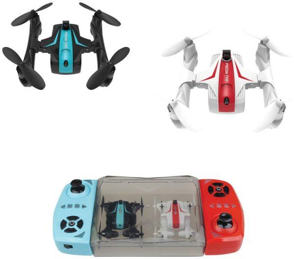 Drone Predator DR200 Battle, solid black white-MCK Promotions