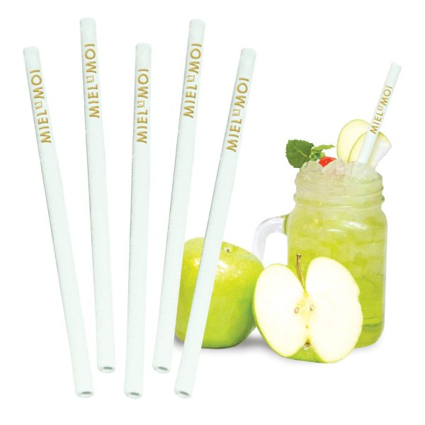 Edible Apple Flavoured Straws- MCK Promotions