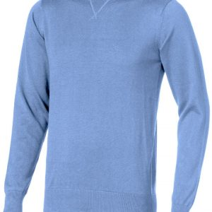 Fernie crewneck Pullover, light blue- MCK Promotions