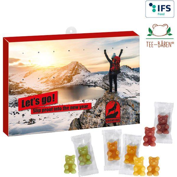Premium Tea-Bears Advent Calendar BUSINESS- MCK Promotions