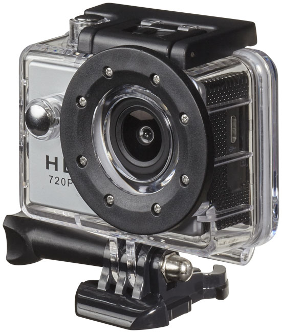 Prixton DV609 Action Camera, grey- MCK Promotions