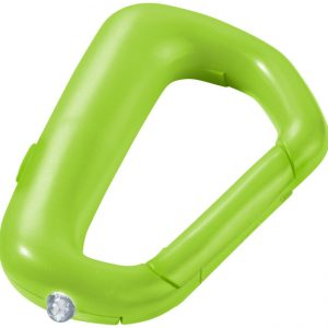 Proxima carabiner key light, lime - MCK Promotions