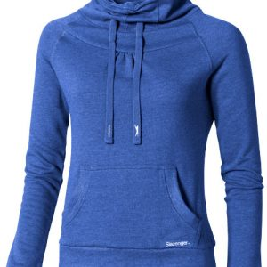 Racket ladies sweater, heather blue- MCK Promotions