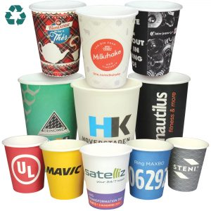 Recyclable Full Colour Paper Cups- MCK Promotions