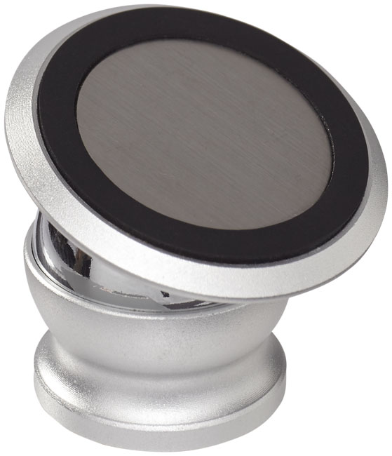 Royce rotatable magnetic smartphone mount, silver - MCK Promotions