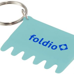 Silicone Keyboard Brush and Key Ring, mint - mck promotions
