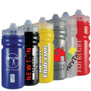 Sports Drinking Bottle 500ml (fingergrip)- MCK Promotions