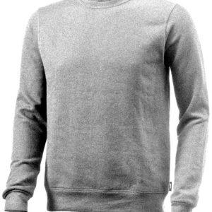Toss crew neck sweater, grey melange- MCK Promotions