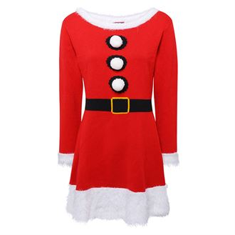 Women's Christmas knitted dress - MCK Promotions