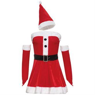 Women's mini dress Christmas costume - MCK Promotions