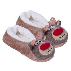 Women's slippers (brown) - MCK Promotions