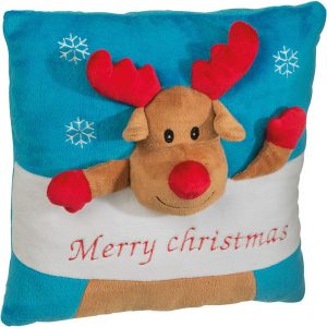 X-mas pillow with different designs- MCK Promotions