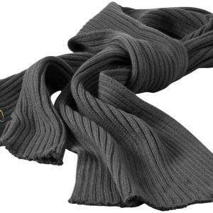 Broach scarf, grey- MCK Promotions