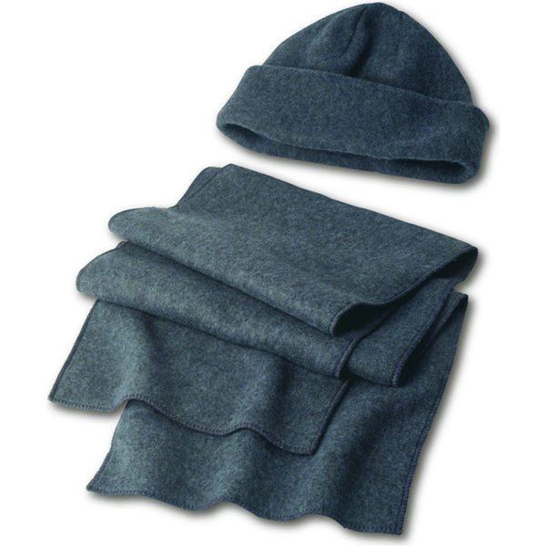 Fleece cap and scarf- MCK Promotions