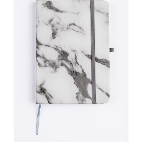 Marble Notebook (grey,white)- MCK Promotions