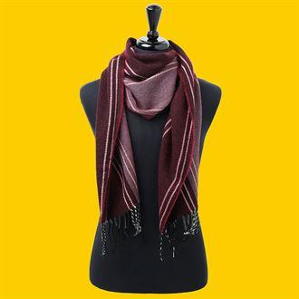Stripe scarf - MCK Promotions