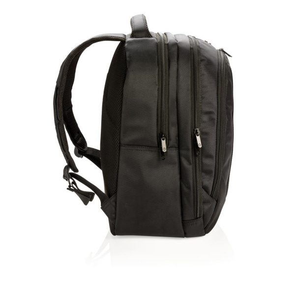 Laptop backpack (side)- MCK Promotions