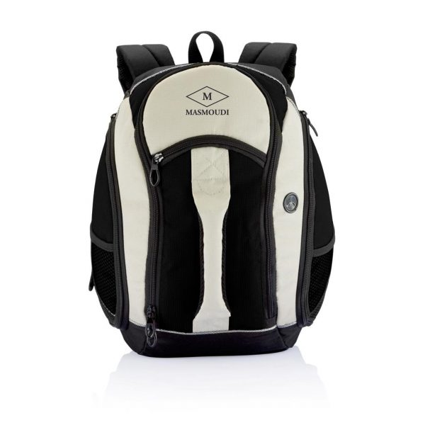 Missouri Backpack With Logo Black- MCK Promotions