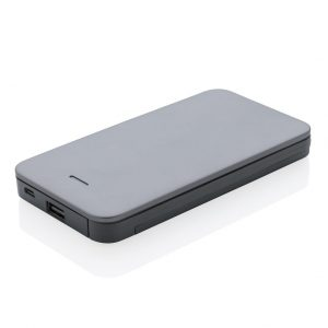 10.000 mAh MFi licensed powerbank, silver - MCK Promotions