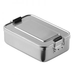 ALUMINIUM METAL LUNCH BOX- MCK PROMOTIONS