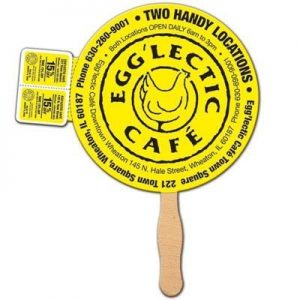 COUPON FAN in Round Shape- MCK Promotions