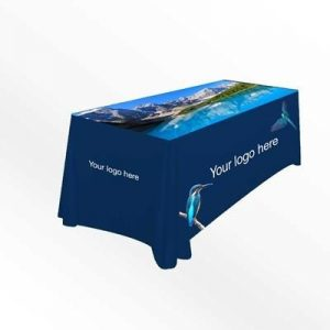 CUSTOM PRINTED TABLE CLOTH- MCK PROMOTIONS