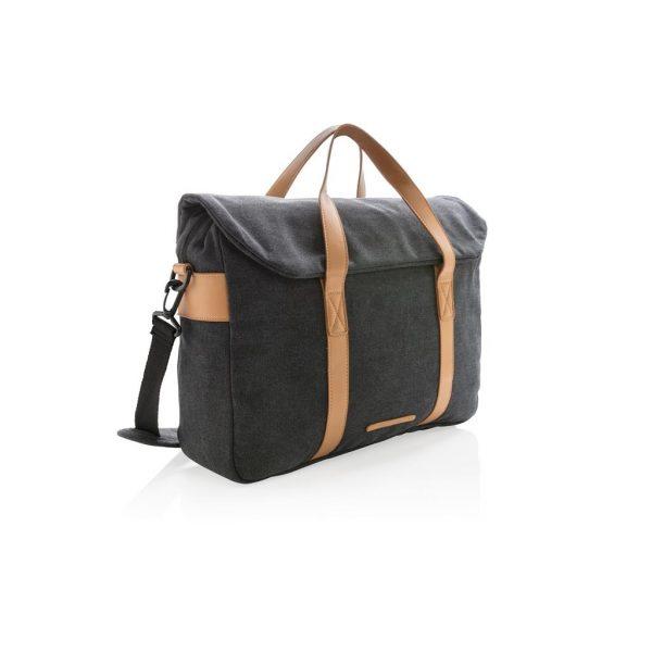Canvas laptop bag PVC free- MCK Promotions